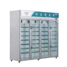 兆邦医用冷藏冰箱SC-2250LF-YF 四开门超大容量 药品阴凉柜