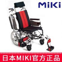 Miki 三贵轮椅车 MP-Ti活动扶手挂脚 分压垫躺坐不累