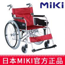 Miki 三贵轮椅车MPT-43JL型 航太铝合金车架 红色S-2