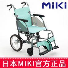 Miki 三贵轮椅车MOC-43J(LK2)  绿色 A-14B(小轮)