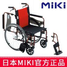 Miki 三贵轮椅车MCVWSW-49JL型  折叠轻便 铝合金 老人代步车
