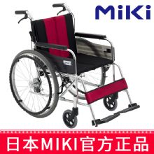 Miki 三贵轮椅车MUT-43JD型 红黑色 W717免充气胎