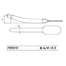 上海金钟子宫颈扩张器 F0R010不锈钢子宫颈扩张器
