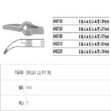 上海金钟显微止血夹W40160 弯L37 网齿