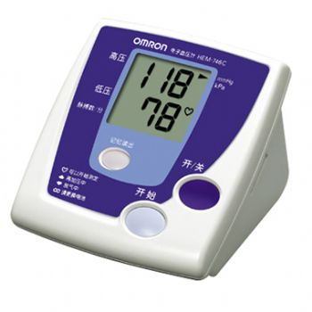 欧姆龙电子血压计HEM-746C型 全自动 上臂式