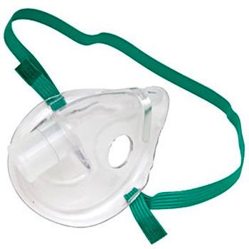 欧姆龙压缩雾化吸入机配件:吸入面罩