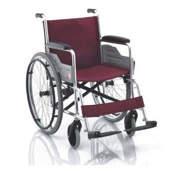 鱼跃轮椅车H033型 铝合金 软座