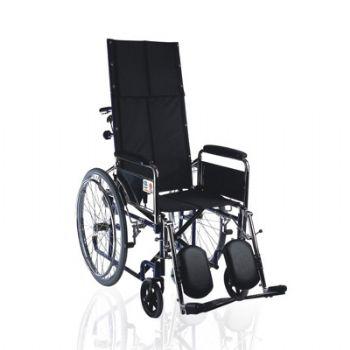 鱼跃轮椅车H008型 软座 高靠背可调节
