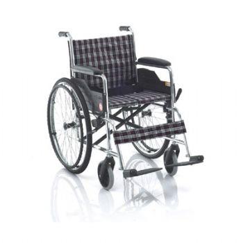 鱼跃轮椅车H033D型 铝合金 硬座
