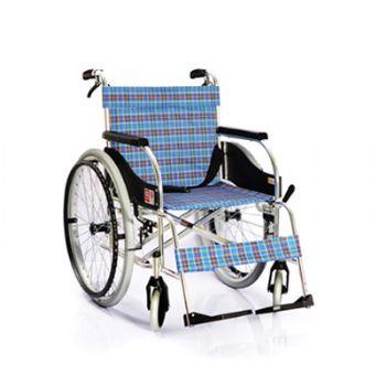 鱼跃轮椅车4000A型 航空铝材 靠背角度可调