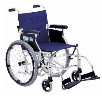 上海互邦轮椅车HBL35-JZ20型 靠背可折翻 20寸后轮 可翻起挂脚 红色