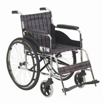 上海互邦轮椅车HBG3型 小轮轴、双轴承、带橡胶减震