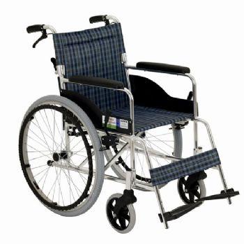 上海互邦轮椅车HBL6-SZ 24寸后轮 靠背可折翻 带后手刹