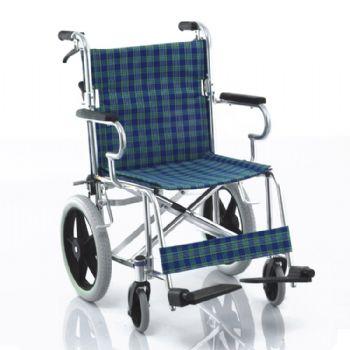 鱼跃轮椅车H032C型 铝合金 可折背