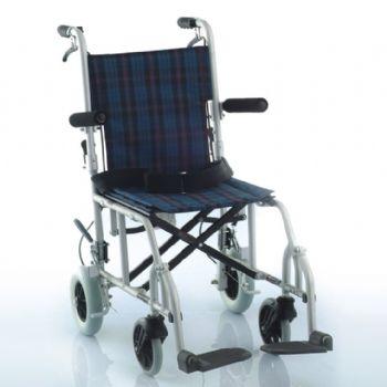 鱼跃轮椅车1100A型 全铝合金 旅行版