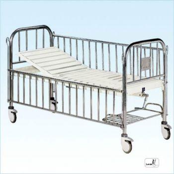 普康单摇儿童床B-35型 不锈钢床头护栏  1840×840×580mm