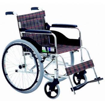 上海互邦轮椅车HBL6型 双轴承 带橡胶减震 24寸后轮