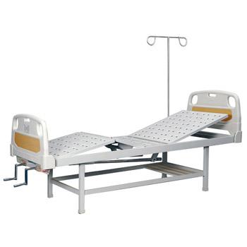 華瑞PE床頭噴塑雙搖病床