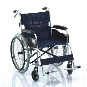 鱼跃轮椅车H030C型 铝合金 可折背