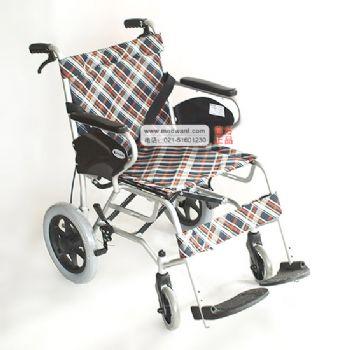 上海互邦轮椅车HBL25-S型 轻便折叠/软坐垫/流线车身
