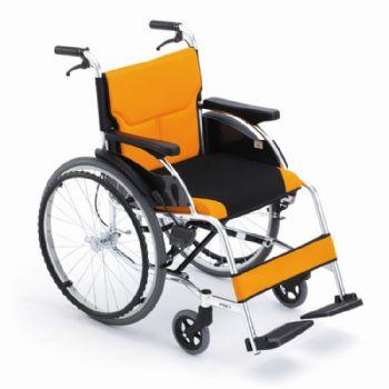 Miki 三贵轮椅车MCS-43L型 橙色