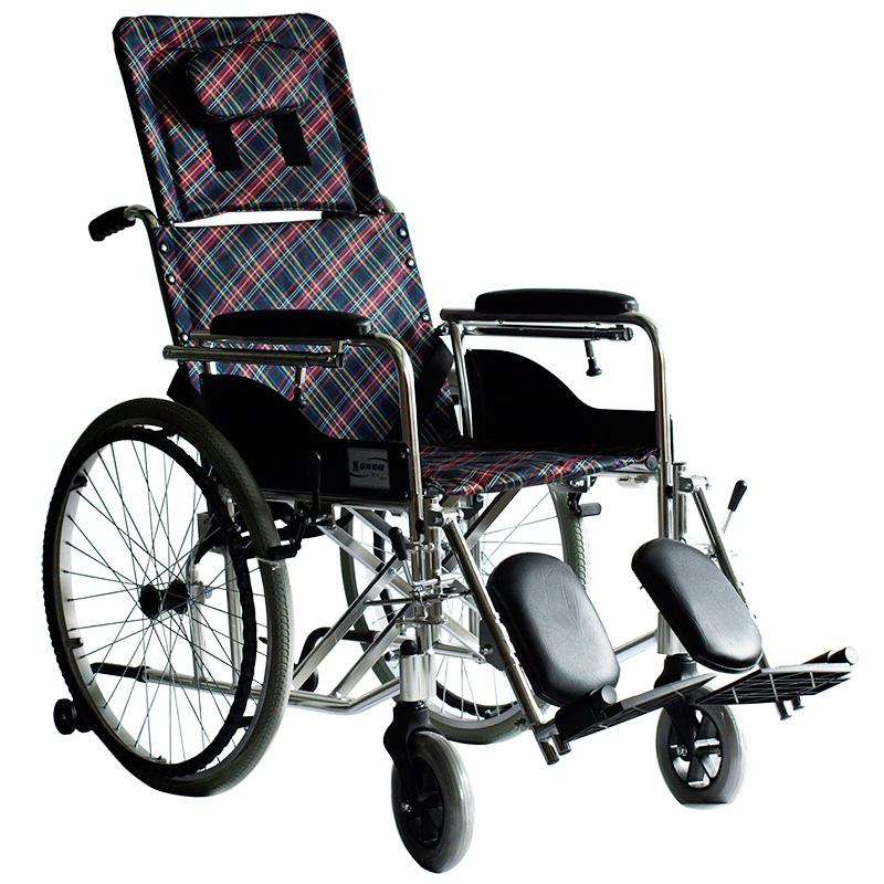 上海互邦轮椅车HBL5型 高靠背可半躺