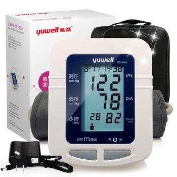 鱼跃电子血压计YE-660A型 上臂式 半自动