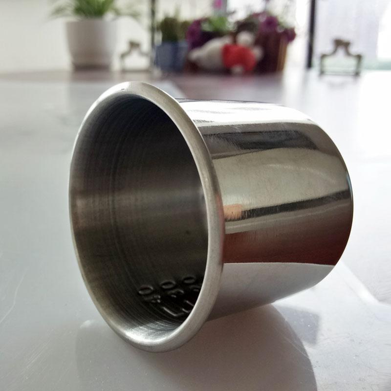 华瑞不锈钢药杯A433 Φ45×39mm