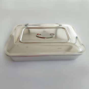 华瑞消毒盘I型 不锈钢 290×190×63.5mm