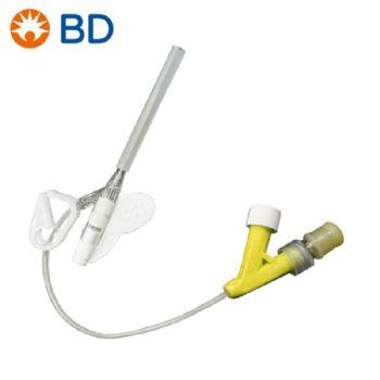 BD 碧迪静脉留置针24G Y型 密闭式  货号383033 原货号:383408