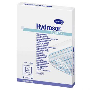 德国保赫曼  德湿舒水凝胶伤口敷料 Hydrosor Comfort  5x7.5cm
