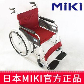 Miki 三贵轮椅车MPT-43L型 红色