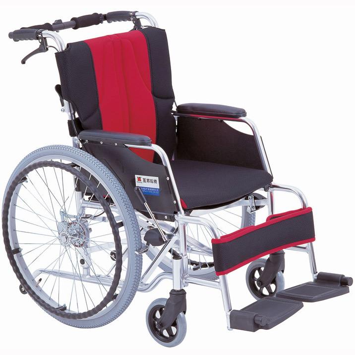 上海互邦轮椅车HBL20-RZ22型 高靠背可拆翻