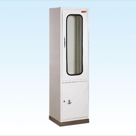 普康器械柜G-29型 不锈钢底喷塑单门 450×400×1700mm