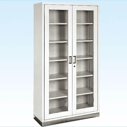 普康器械柜G-19型 不锈钢底两门 960×400×1750mm