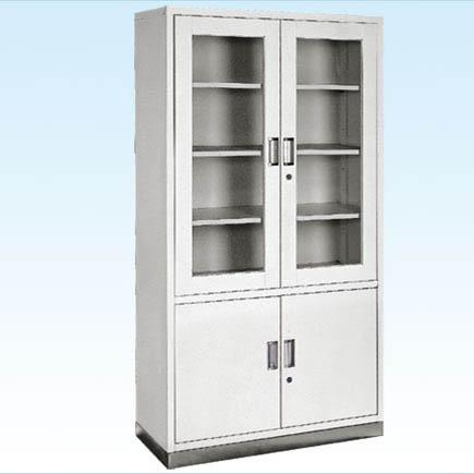 普康器械柜G-18型 不锈钢底四门 960×400×1750mm