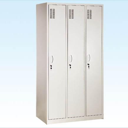 普康喷塑三门更衣柜G-17-1型 960×400×1750mm
