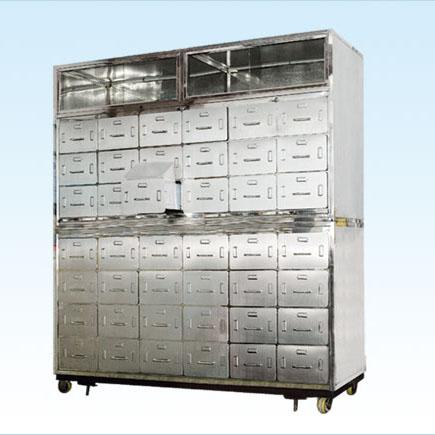 普康中药柜G-27型 不锈钢 1730×600×2150mm