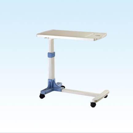 普康移动过床餐桌F-33型 770×380×750~1010mm