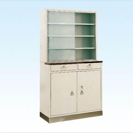 普康药品柜G-15型 不锈钢  900×250/400×1750mm