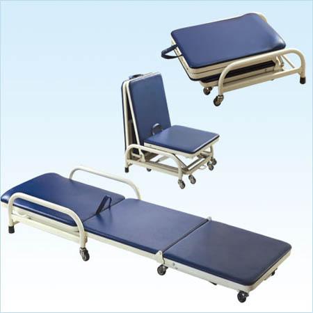 普康喷塑陪床椅F-44-1型 1900×550×170/280mm