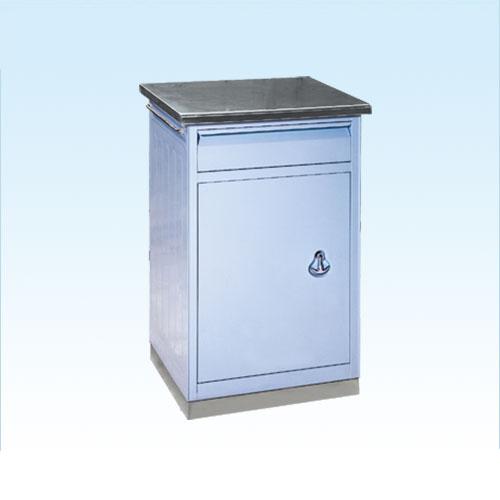 普康床头柜D-6型 不锈钢 490×400×755mm