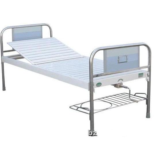 长城单摇床A51型 不锈钢铝塑板床头 钢板条面