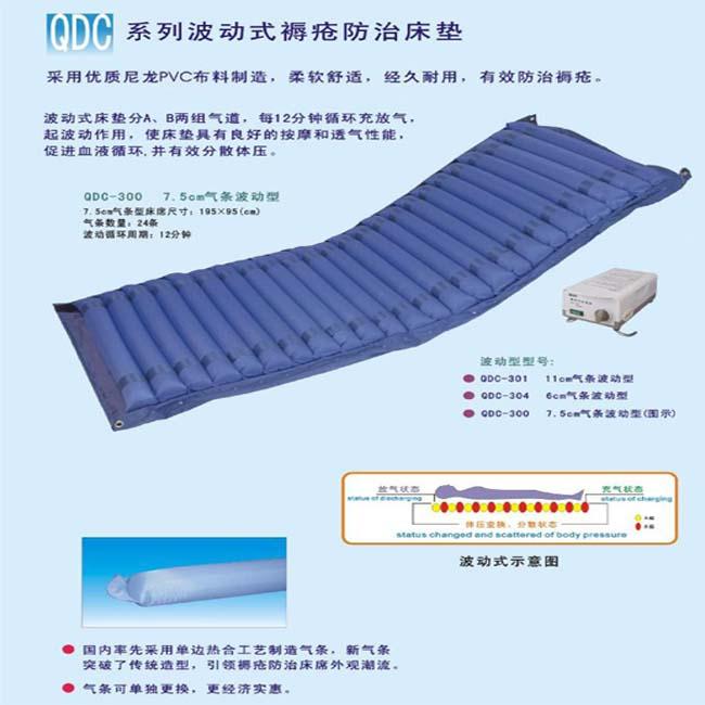 粤华防褥疮床垫QDC-300 波动式 7.5cm气条