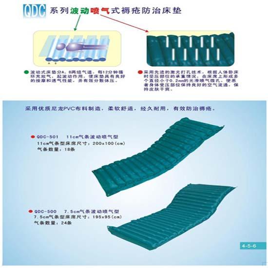 粤华防褥疮床垫QDC-500 7.5cm气条 波动喷气式