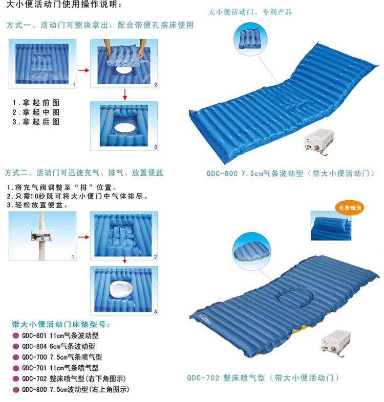粤华 防褥疮床垫 QDC-800