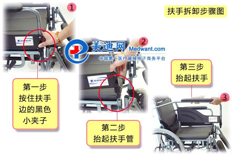 """""""上海互邦""""轮椅车 HBL10-BFQ型 10"""