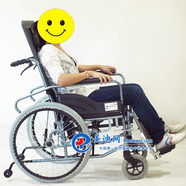 """""""上海互邦""""轮椅车 HBL10-BFQ型 17"""