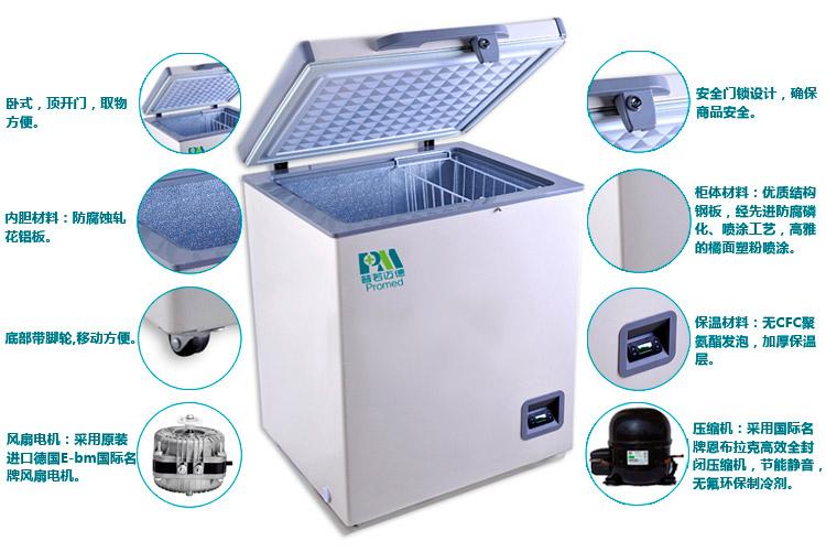 普若邁德 臥式低溫冰箱(醫用保存箱)MDF-25H198T
