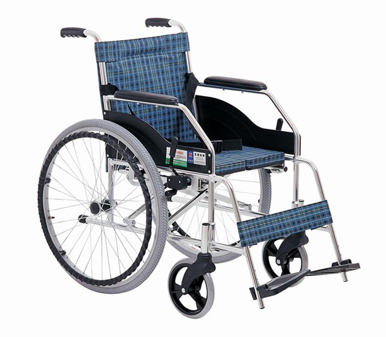 上海互邦 轮椅车 HBL1-Y型 24寸后轮 硬坐垫